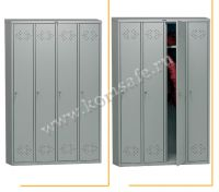 Шкафы индивидуального хранения (локеры) ПРАКТИК LE