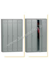 Шкаф индивидуального пользования (локер) ПРАКТИК LS-41