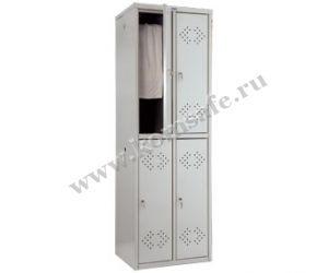 Шкафы для раздевалок ПРАКТИК LS-22