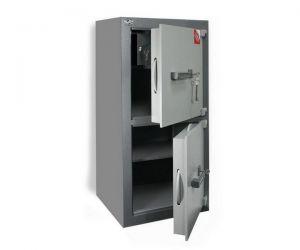 Сейф двухсекционный офисный 1 класса Рипост BM1 2002