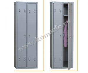 Шкаф индивидуального пользования (локер) ПРАКТИК LS-21C(собранный)
